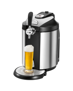 Clatronic beer dispenser BZ 3740 stainless steel/black