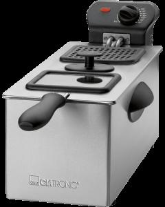 Clatronic Stainless steel deep fryer FR 3587 stainless steel/black