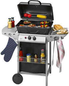 Clatronic Gas grill GG 3590 black/stainless steel