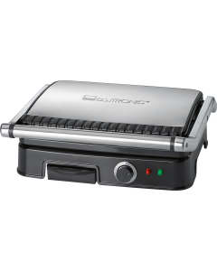 Clatronic Contact grill KG 3487 stainless steel/black
