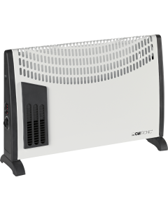 Clatronic  Convector heater with blower function KH 3433 N white/black