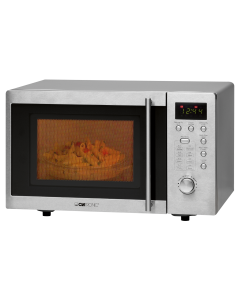 Clatronic Built-under Microwave Oven with grill MWG 778 U stainless steel