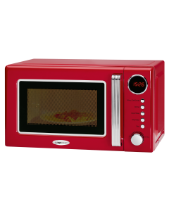Clatronic Retro microwave with grill MWG 790 red