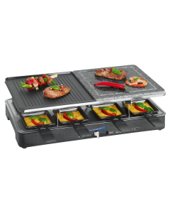Clatronic 2-in-1 Raclette-grill RG 3518 black
