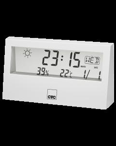 CTC Weather Station with Clock WSU 7022 white