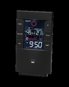 CTC Weather Station with Clock WSU 7024 black